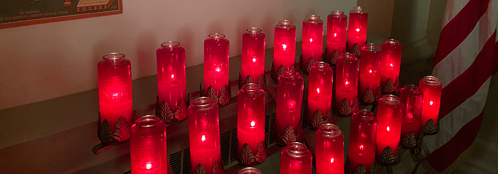 Candles at St. Nicholas